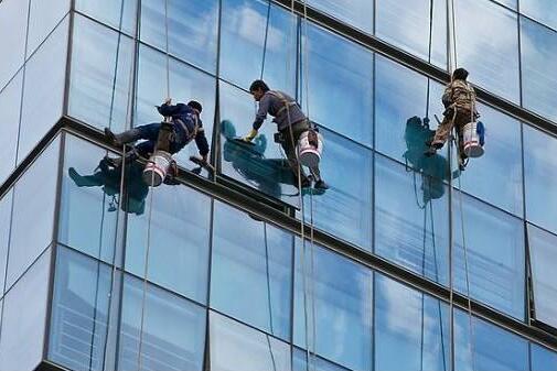 铝塑板_玻璃幕墙外墙清洗