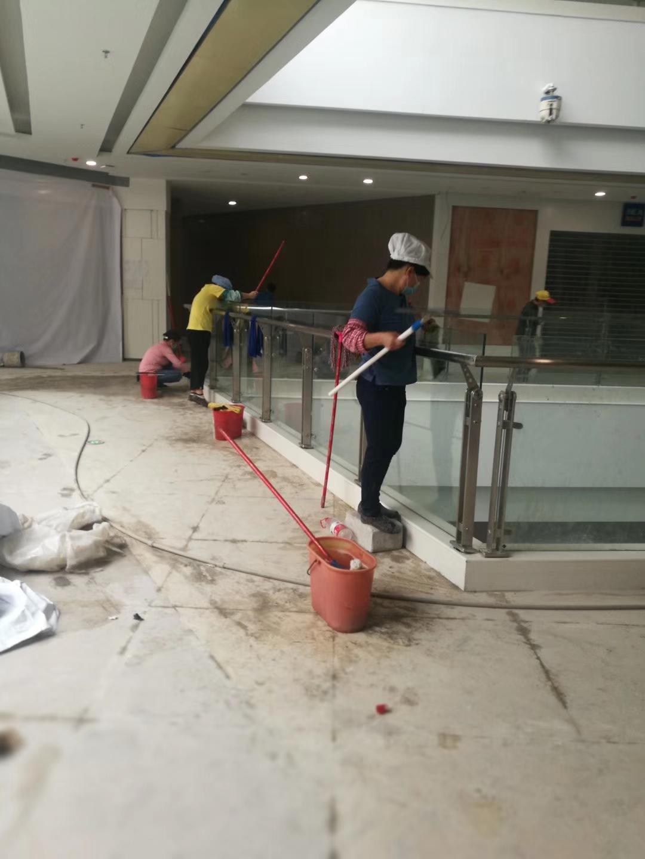 商场写字楼保洁开荒清洁?